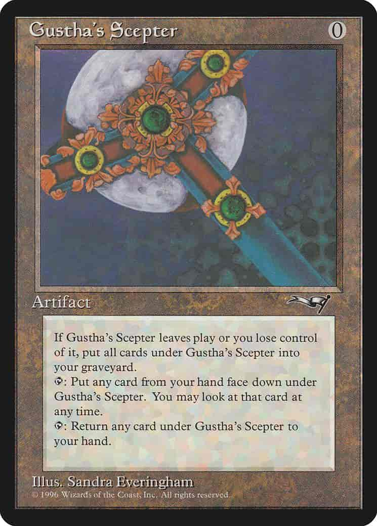 Gustha's Scepter